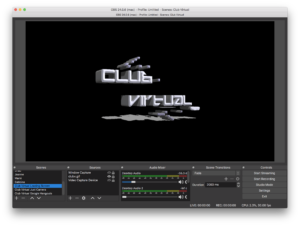 screenshot of club virtual loading scene